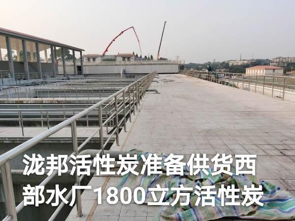 供货:西部水厂-施工现场02